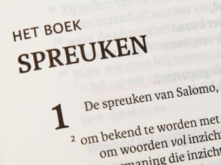 bijbel spreuken wijsheid Wie schreven het boek Spreuken? Salomo? EindtijdEvangelie.org bijbel spreuken wijsheid
